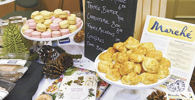 The Truffle Marketplace in Eugene gives attendees opportunities to purchase fresh truffles as well as goodies made by local artisans, such as Marché Restaurant.##Photo provided