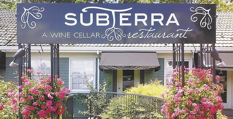 Subterra, located in Newberg, is a unique dining experience in an ambient cellar venue. Although eclectic, the menu is executed with classical technique.##Photo provided