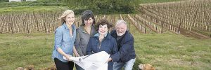 Christine Collier (from left),