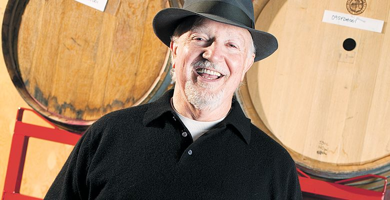 After growing grapes and making wine for many years, Doyle Hinman is now an accomplished wine negociant.##Photo provided