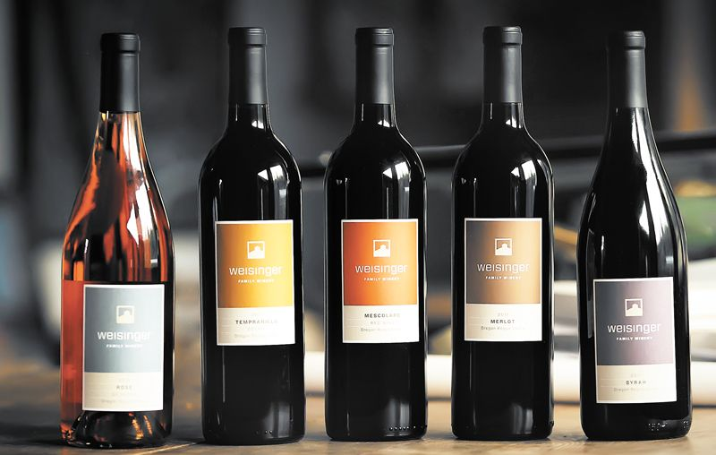 Weisinger Family Winery launched its new design to reflect its new winemaking philosophy focusing on history, family, quality and local sourcing.##By Steven Addington Photography