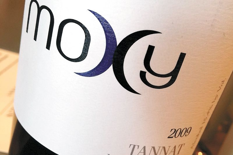 Moxy Tannat is the most unique offering you will find at the Paul O'Brien tasting room. ##Photo by Paula Caudill.