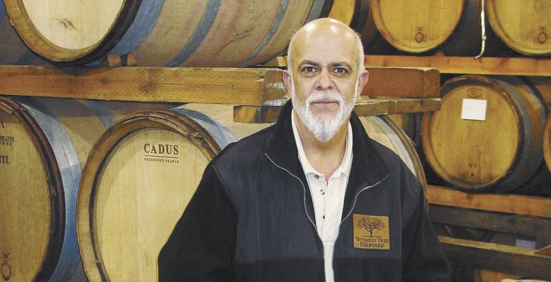 Mark worked for Witness Tree for many years, selling the Eola-Amity Hills label across the country. He helped the winery reach new heights in sales and distribution. ##Photo Provided