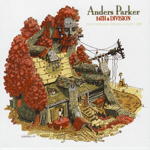 "Anders Parker - 14th and Division, Live in Portland. ""Anders is a songwriting hero of mine.  This record is a show he played in my old basement in