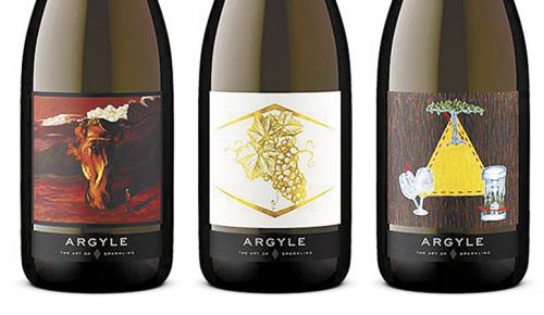 Argyle Winery s2020 Art of Sparkling winning labels for the special annual collection. ##Photo provided