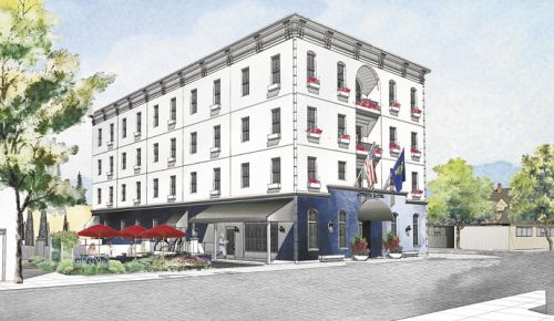 The Atticus Hotel, a new locally owned, Oregon-inspired luxury hotel, is set to break ground in downtown McMinnville in May 2017. ##Image Provided