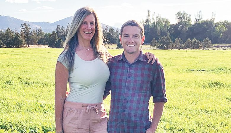 Linda Lattavo and Grant Scholz purchased 42.1 acres on the west side of Redmond and are currently preparing the land for vines. ##Photo provided