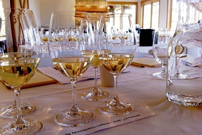 The 2012 Chardonnay Symposium was held in January and hosted at Red Ridge Farms.