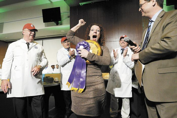 In March, Marieke Penterman of Holland s Family Cheese won first place with her Marieke Mature Gouda at the 2013 U.S. Championship Cheese Contest held at Lambeau Field in Green Bay, WI.
