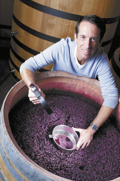 Chris Mazepink, Archery Summit's new general manager/winemaker.