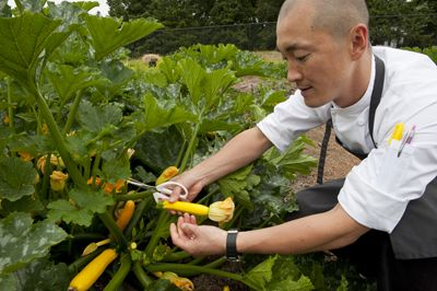 Sunny Jin, executive chef