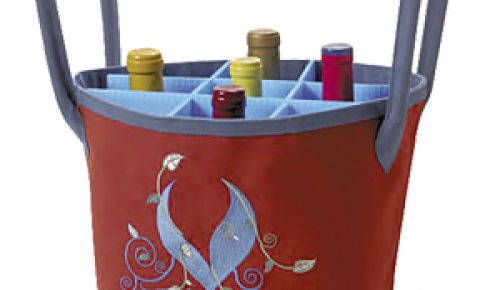 1. Zoties Wine Carrier
