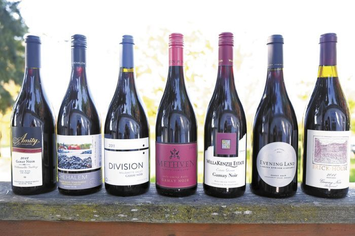 A variety of wineries produce Oregon Gamay Noir.
