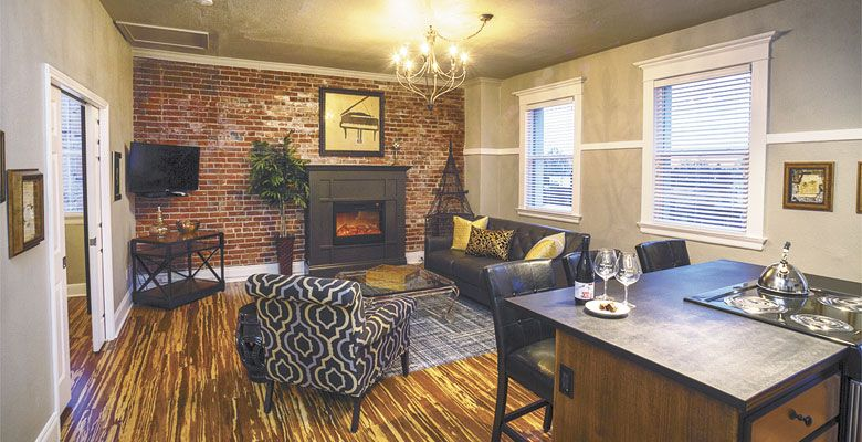 With two locations in the heart of downtown McMinnville, 3rd Street Flats offers uniquely inspired lodging. Photo provided