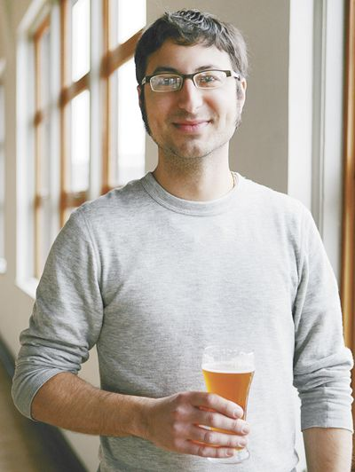 Alex Ganum is the founder of and brains behind Upright Brewing.