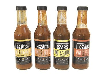 The Czar's Fine Foods lineup of sauces were introduced in the fall of 2011.