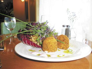 Winter Squash and Parmesan Risotto Fritters