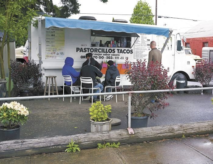 Pastorcillos Tacos serves authentic Mexican tacos and burritos from its stationary food truck in Newberg.
