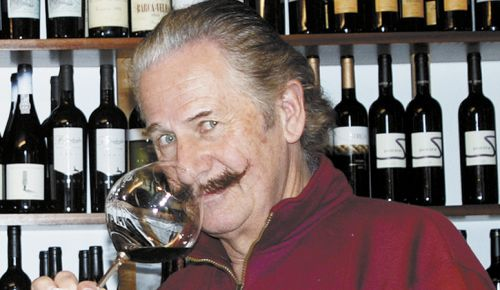 Fred Gunton, A Nose For Wine. ##Photo provided