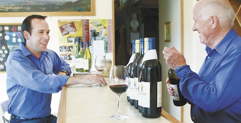 Marc Girardet (left) and his