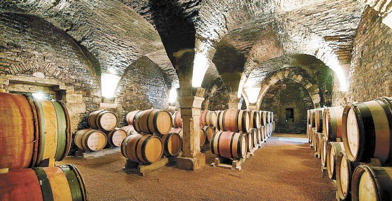Maison Joseph Drouhin's Cellars of the Collégiale Church.  ##Photo courtesy of Maison Joseph Drouhin