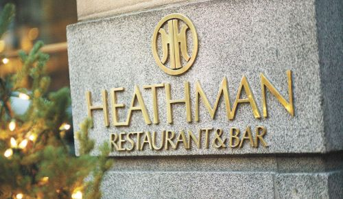 The Heathman has been a culinary and wine institution for decades. ##Photo by John Valls.