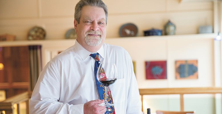 Andy Zalman, Higgins' long-time wine director. ##Photo by John Valls