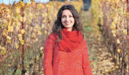 Ximena Orrego, winemaker/owner of Atticus Wine, organizes the inaugural Celebrating Hispanic