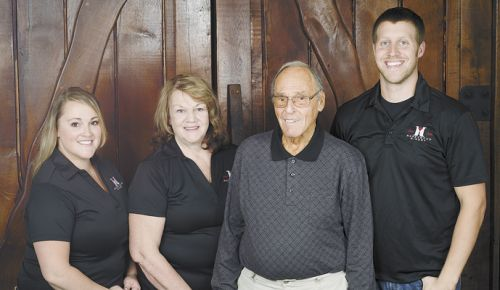 Honeywood Winery's (from left) Lesley, Marlene, Paul and Kyle Gallick. ##Photo provided