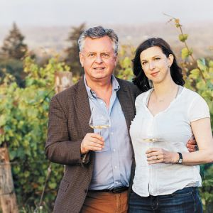 Chris and Kathryn Hermann, 00 Wines. ##Photo by Kathryn Elsesser