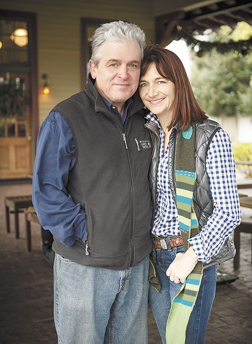 2012 OWP Wine Persons of the Year: Ken and Karen Wright.