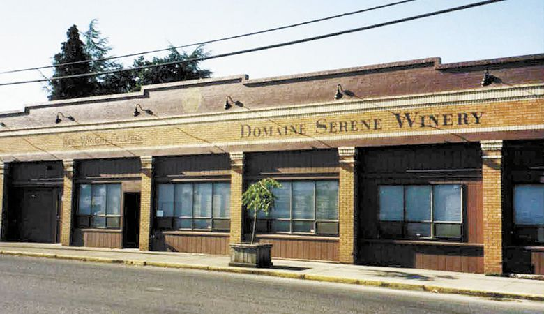 Domaine Serene's first production facility in downtown Carlton. ##Photo courtesy of Domaine Serene