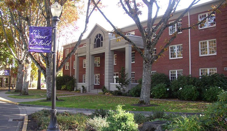 Linfield College, McMinnville, Oregon.