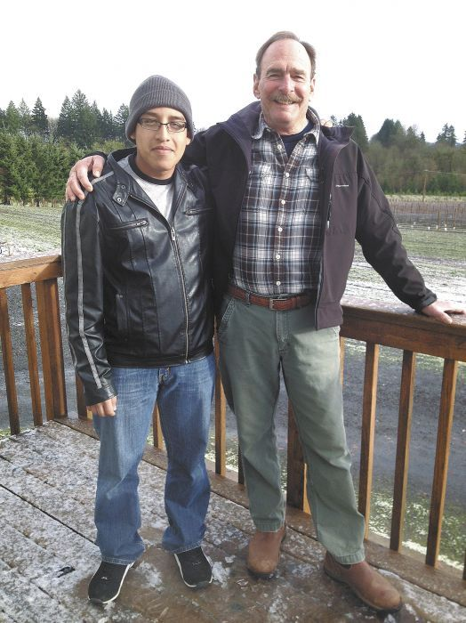 Advance Vineyards Systems owner Buddy Beck,