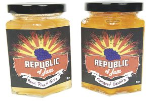 Republic of Jam products use less sugar and more fruit than commercially jams.