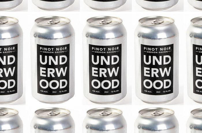 Union Wine plans to introduce its Underwood Pinot Noir and Pinot Gris in cans in mid-2014. Photo provided.