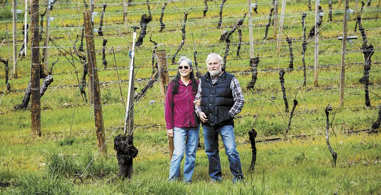 Ted and Teri Gerber planted Foris Vineyards in 1972. Foris is the southernmost winery in the state, merely miles from the Oregon-California border. ##Photo by Kathryn Elsesser