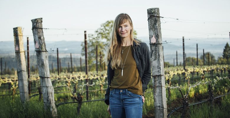 Lauren Eisold, Atlas Vineyard Management. ##Photo by Kathryn Elsesser