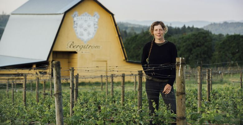 Sara Martin, Bergstrom Wines. ##Photo by Kathryn Elsesser