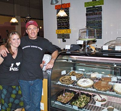 Portland s Pacific Pie owners Sarah Curtis-Fawley and Chris Fawley.