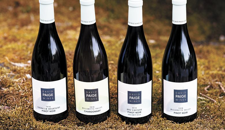 David Paige Wines has released three Pinots and one Chardonnay made by longtime winemaker David Paige. ##Photo by Andrea Johnson