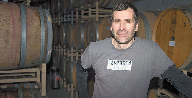 John Grochau has been making wine under his eponymous brand since 2002. ##Photo by Eugene Johnson.