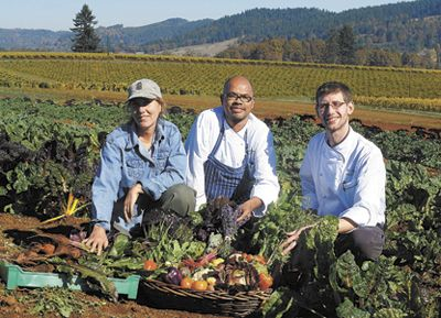 Executive Chef Michael Landsberg (right),