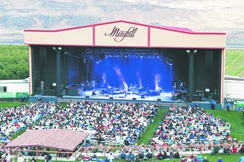 Maryhill's 2010 Summer Concert series featured major acts like Jackson