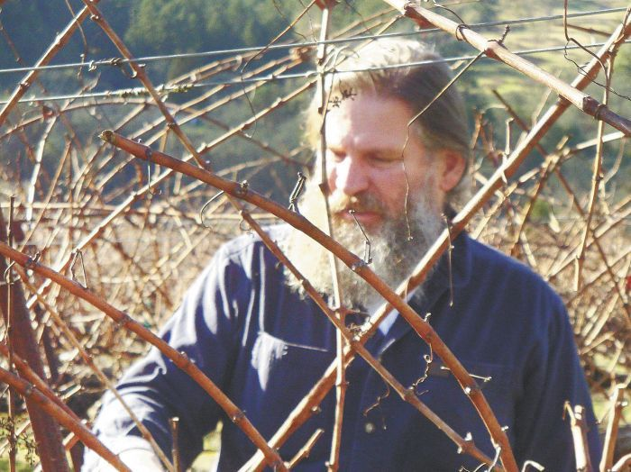 Vineyard Manager Eric Dietz. Photo by Jade Helm.