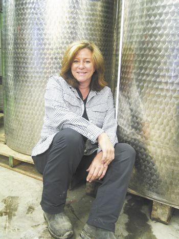 Stone Wolf Vineyards co-owner Linda Lindsay has managed the winery since its founding in 1997.