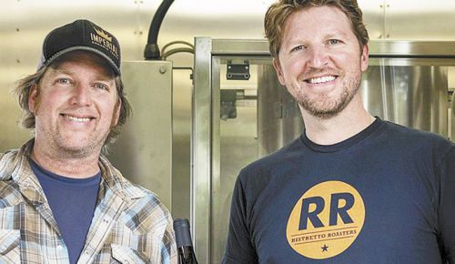 Jon Larson (left) and Boyd Pearson of Redolent Wine Co. ##Photo provided