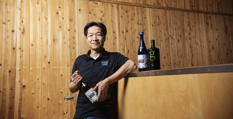 Under the guidance of brewer Takumi Kuwabara, SakéOne has won more awards than any other domestic saké producer. ##Photo by Kathryn Elsesser