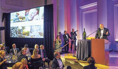 During this year's ¡Salud! Dinner and Auction Gala, Nov. 10, at the Governor Hotel in Portland, Dick Erath was honored with the 2012 Legacy Winemaker award for his contributions to the industry and steadfast support for the program.