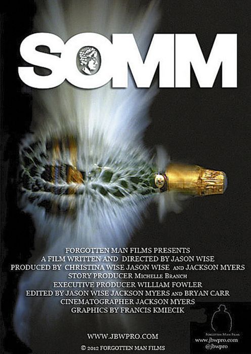 """Somm"" is a documentary following sommeliers studying for Court of Master Sommeliers' exam."